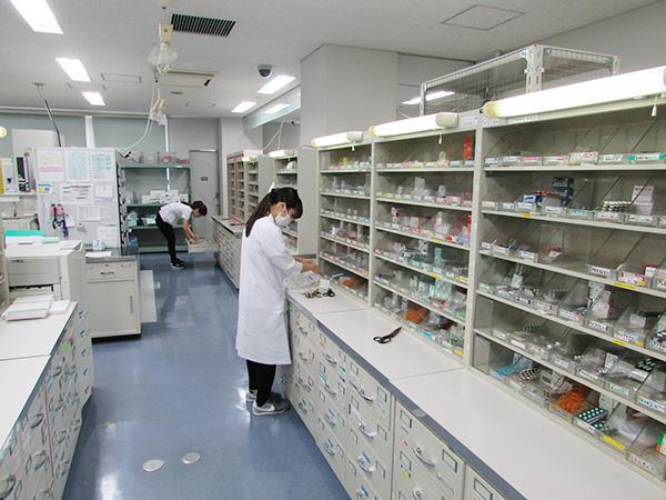 調剤室の概要