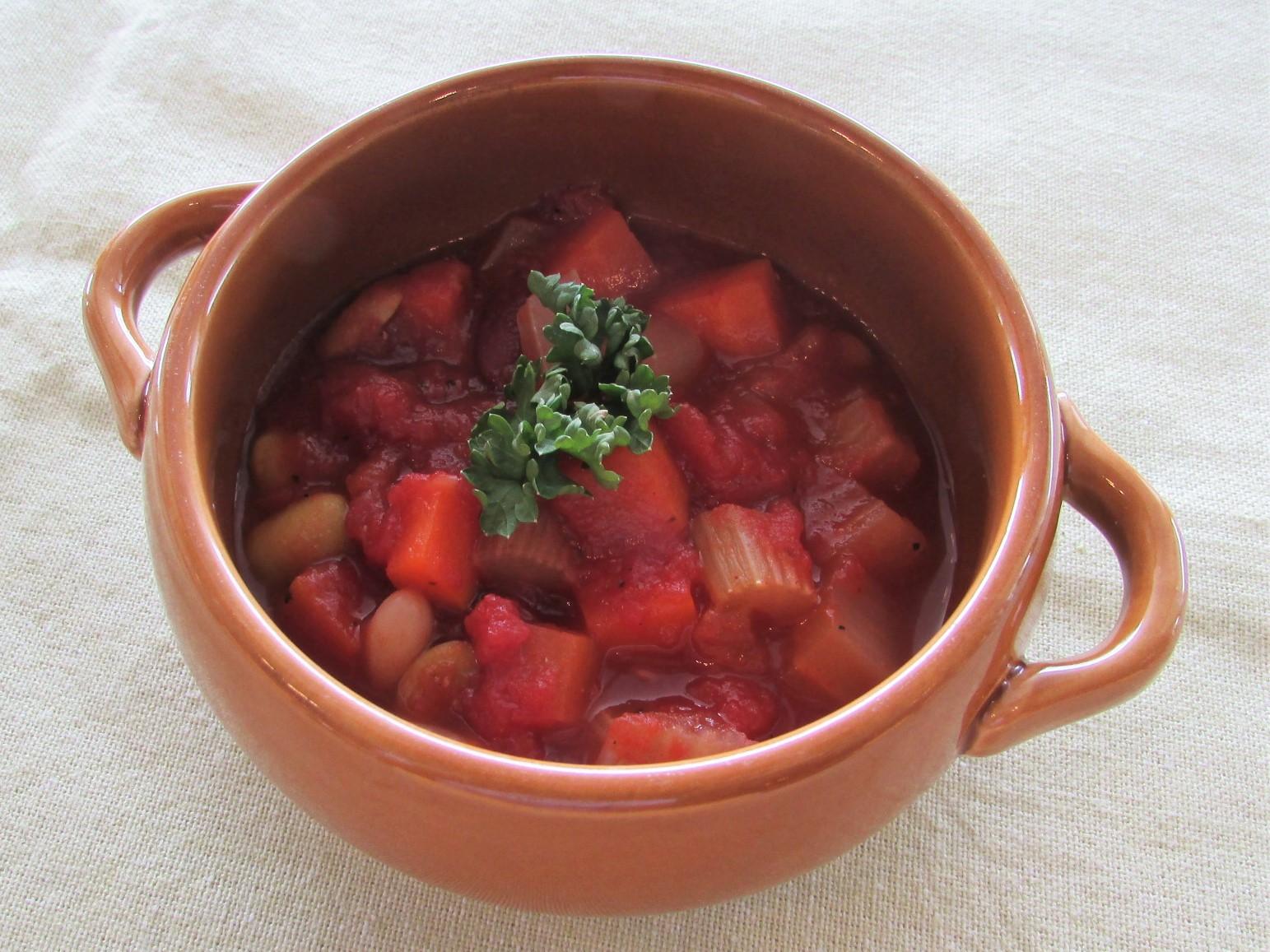 ミックスビーンズトマト煮