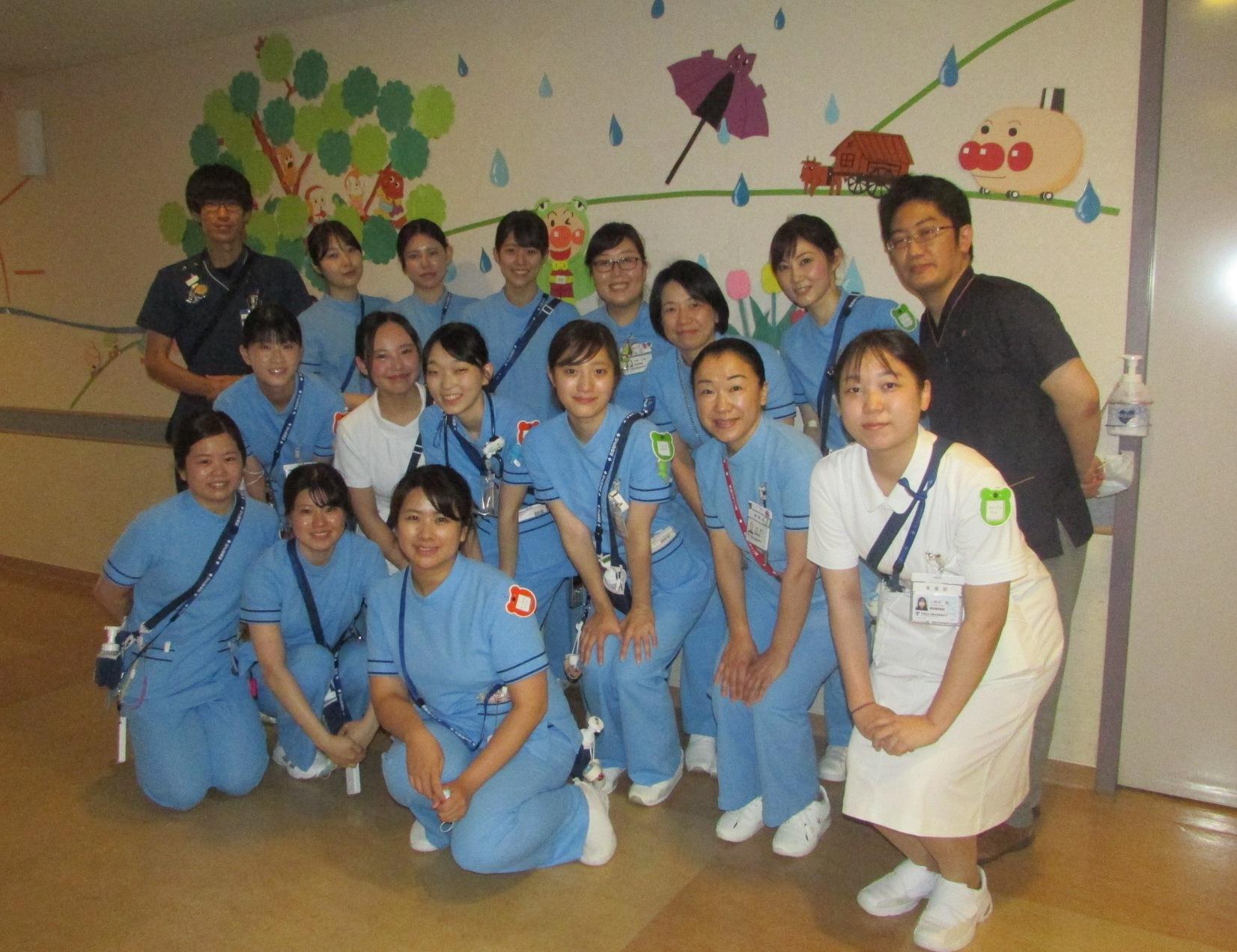 4A病棟:小児科、小児外科