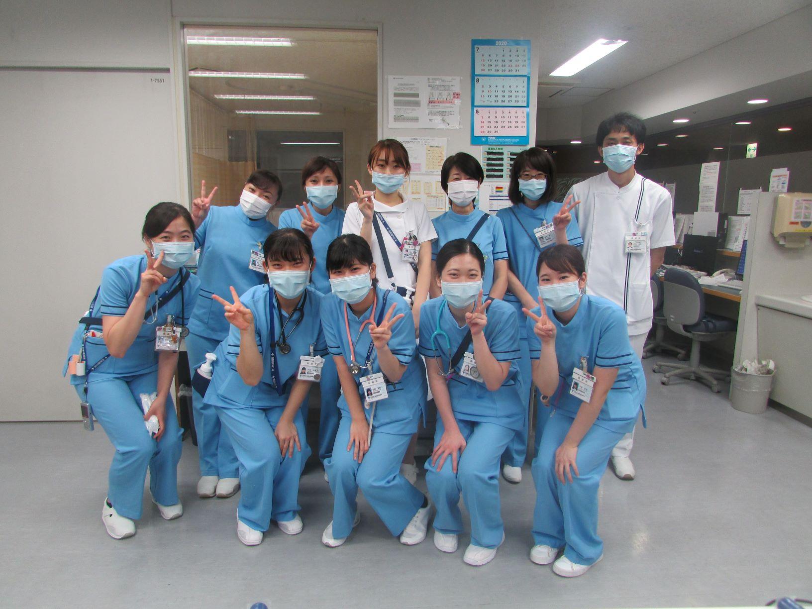 7A病棟:呼吸器内科・外科、血液・腫瘍内科、整形外科