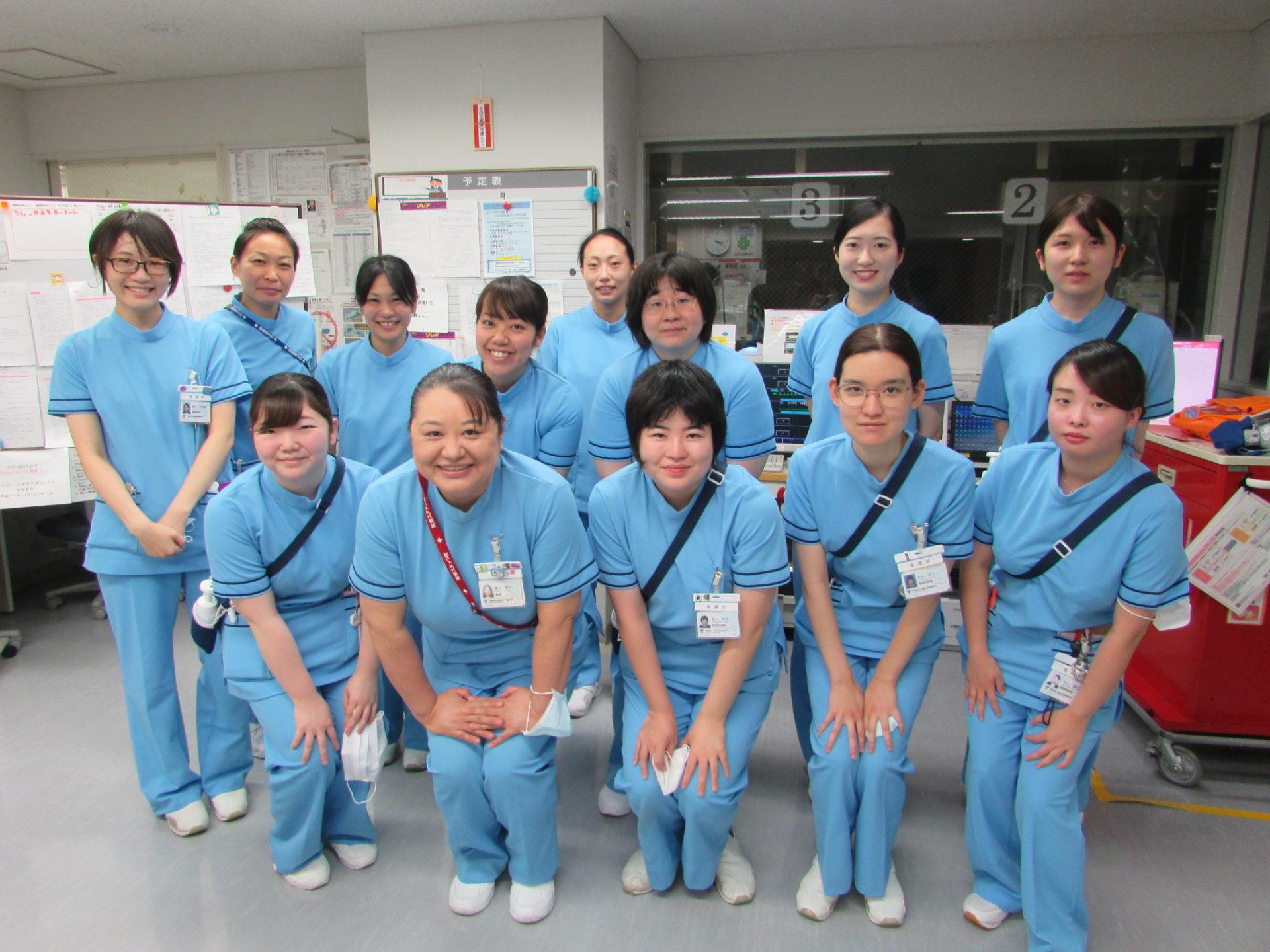 4B病棟:産科、婦人科、乳腺外科