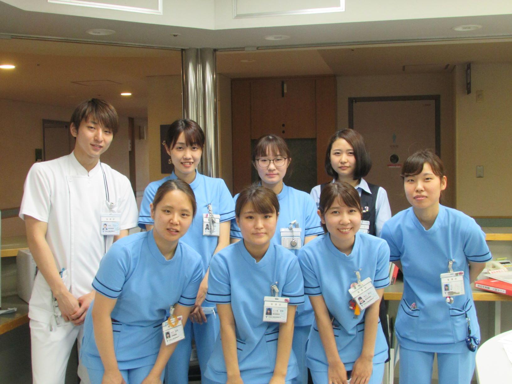 5B病棟:神経内科、脳神経外科